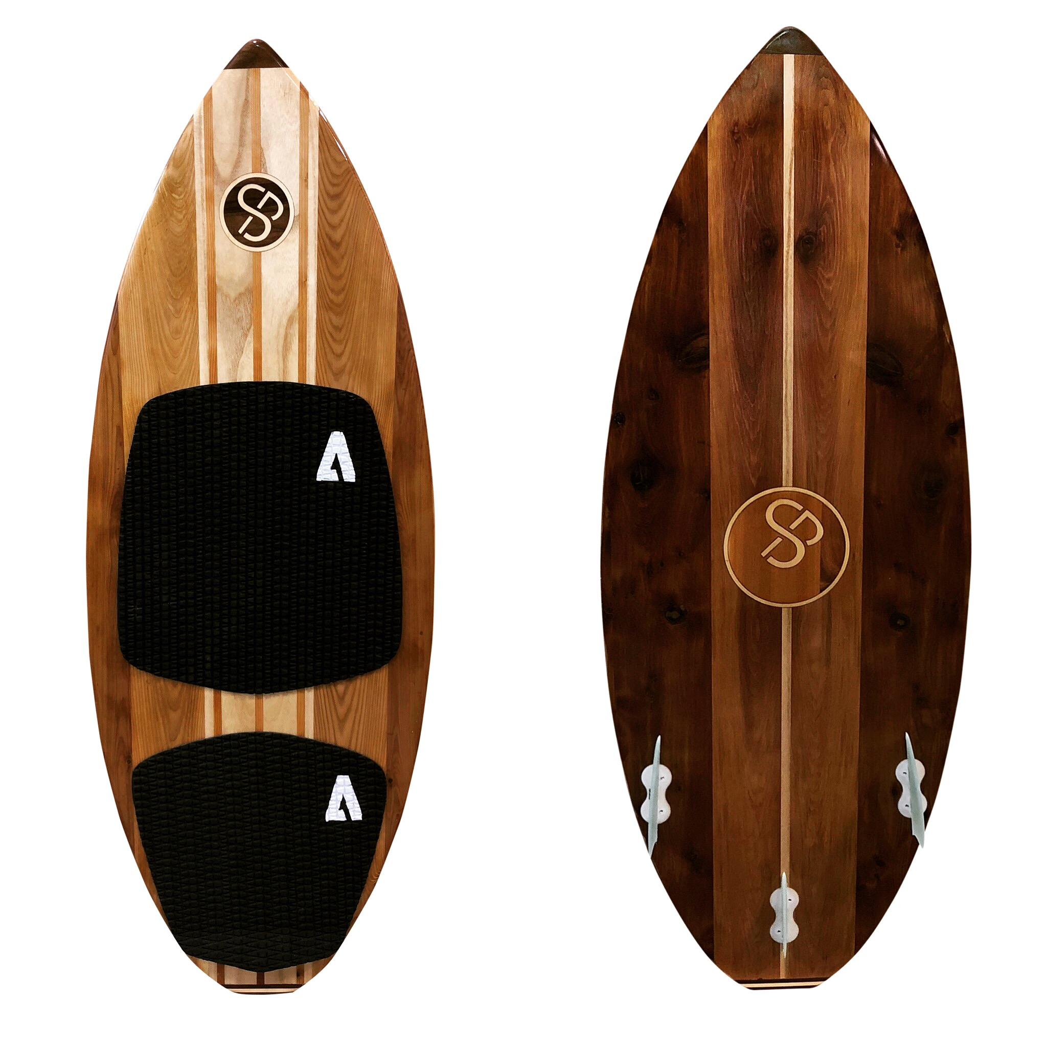 Handcrafted Wood Wakesurf
