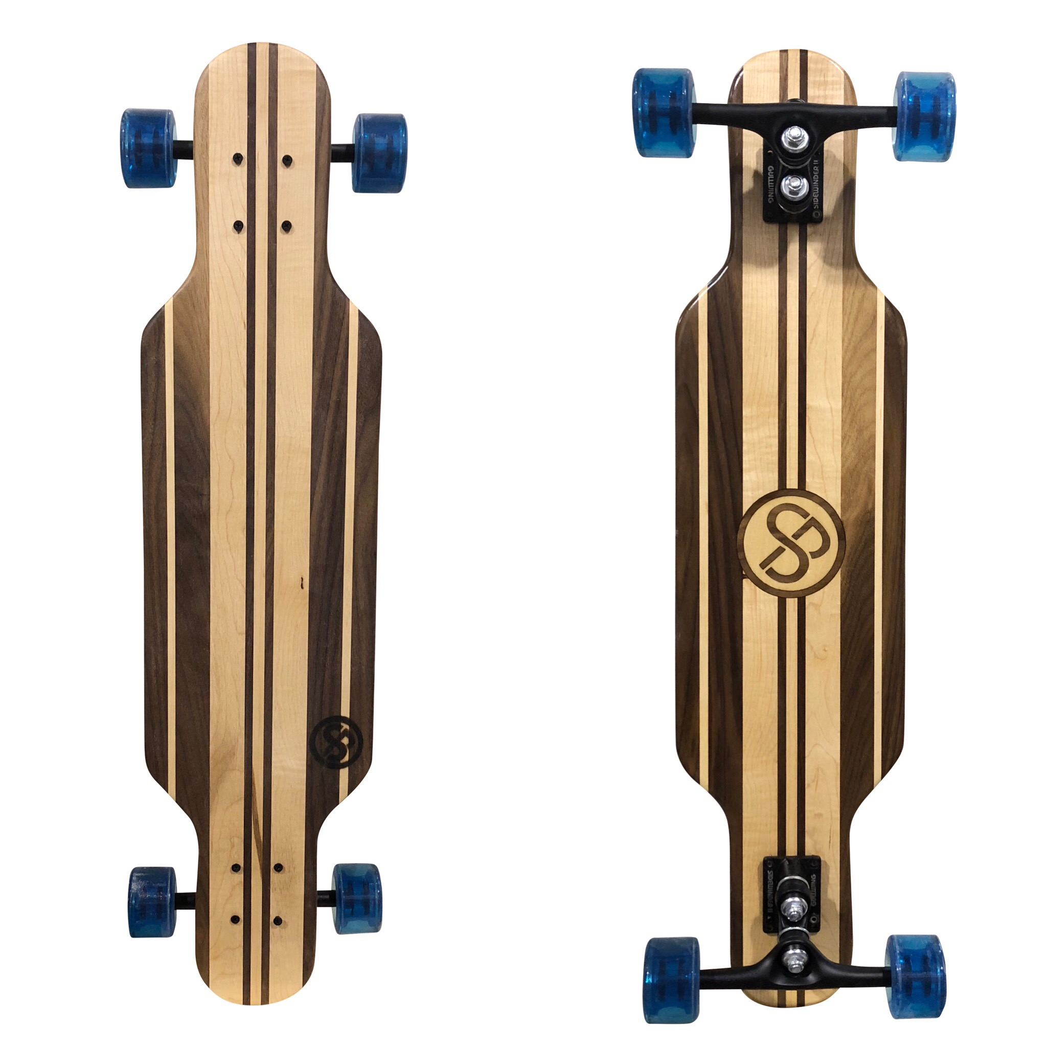 Handcrafted Longboard Twin