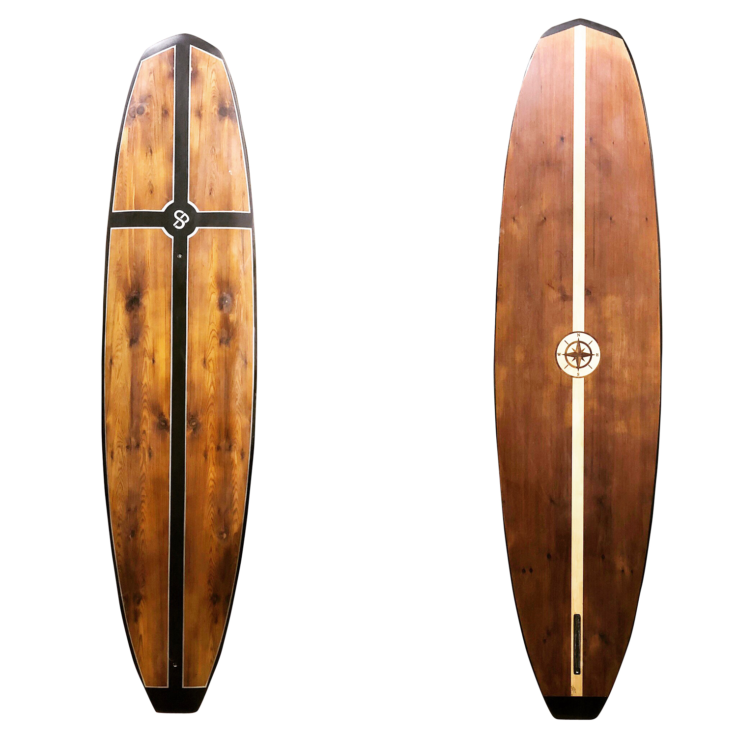 Handcrafted Wood Paddleboard