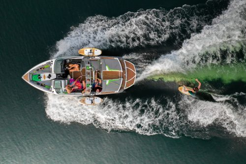 Wakesurf Birds Eye View by Shore Boards